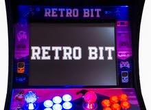 "Retro Bit Bartop 17"" Arcade Cabinet 8,000+ Classic Games Custom Made"