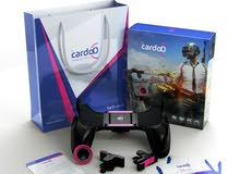 Cardoo Mobile Game Controller - Black/Pink