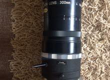 عدسة 300 lens