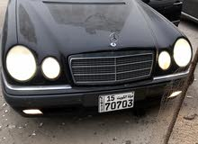 Black Mercedes Benz E 400 1999 for sale