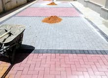 For tiling, gupsum, painting and water proofing work contec me by  0592012235