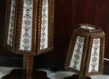 تيبل لامب / table lamp / تطريز يدوي