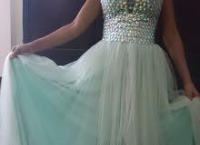 dress gown فستان