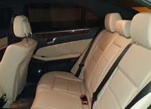 للبيع المستعجل مرسيدس E350 موديل 2012 فووول اوبشن