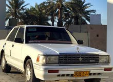 Beige Toyota Crown 1991 for sale