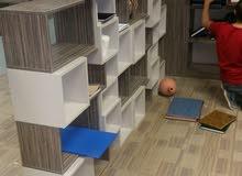 تنفيذ جميع اعمال الخشبيه غرف نوم مكاتب ديكورات داخليه
