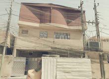 منزل 100 متر مربع واجهة 10 و نزال 10 3 غرف نوم مخزن عدد 2 السطح مغلف بالكامل