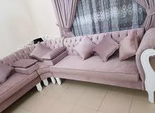Sofa majlish new making. Old sofa repair and recovering