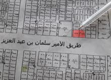 فرصة للإستثمار ارض تجارية على طريق الملك سلمان