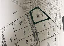 ارض صناعيه في المسفاة سعال 8100 متر مربع