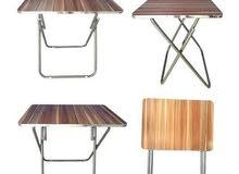 طاولات خشب قابلة للطي للبيع