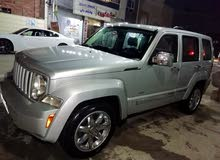 Silver Jeep Liberty 2012 for sale