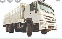 مطلوب شاحنة للبيع او للإيجار