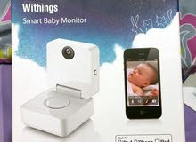 كاميرا مراقبة للأطفال ويمكنك رؤية طفلك على هاتفك النقال أو من خلال هذه الكاميرا