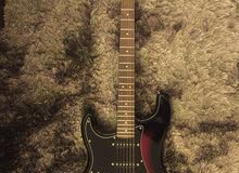 Electric Guitar (Lefty Fender Squier Strat)