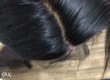 باروكة شعر طبيعي 100%