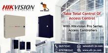 تحكم بمدخل منزلك أو شركتك بسهولة وذكاء مع مع أحدث تكنولوجيا أنظمة التحكم بالدخول من Hikvision