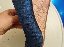 Blue woman shoes Rialto, 25cm length