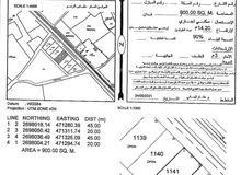 ارض سكني تجاري اول خط من شارع كشمير بولاية صحار