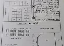 أرض ركنية للبيع في صحنوت في الصفة الثانية من شارع رئيسي قائم 48 م