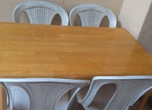 Dining table for sale with 04 chairs
