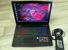 Msi Ge72Vr 7RF Apache pro Processor-Core i7 7th gen