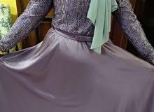 بيع فستاين زفاف نظيفه لبسه واحدة وفستان سورايه لبسه واحده ساعتين بحالته