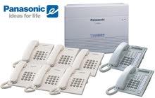 Panasonic PABX with Phones