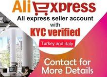 aliexpress seller accouts turkey
