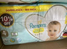 pampers - premium care - size 4 - 108 diapers
