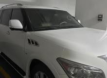 Infiniti QX80 5.6L V8 4WD 2014 Full Options White