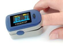 جهاز قياس نسبة الاوكسجين بالدم ونبضات القلب Pulse oximeter