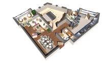 شقة 91م للبيع جوار زاخر مول باقساط سنتين