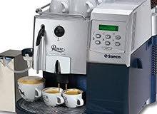 للبيع ماكينات القهوة اسبريسو وكابتشينو معدة للاستخدام المنزلي والمكاتب والشركات