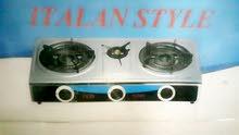 طباخ منضدي 3 عيون. جديد غير مستعمل  السعر _ 40 وبي مجال