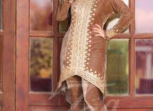 أزياء هنديه مطرزه