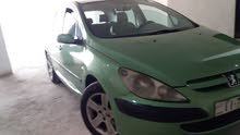 Green Peugeot 307 2004 for sale