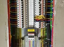 تمديدات كهرئائية  و تصميم وتنفيذ الأنظمة الكهربائية و انظمة المراقبة و الشبكات و الاتصالات