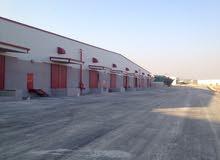 مستودعات للايجار مساحات مختلفة داخل مدينة التجمعات الصناعية