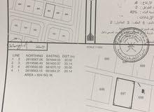 ارض سكنية . ولاية المصنعة  منطقة الطريف طريق جما الرستاق