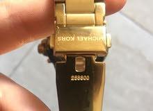 ساعة مايكل كورس اصلية مستعملة بحالة الجديد للبيع