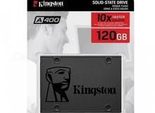 كرت SSD سعة 120gb من Kingston
