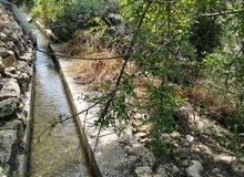 مزرعة للبيع 5.700 دونم (القنيه) شرق جرش ، بها نبع ماء مسجل بالقوشان