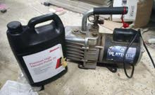 2 vacuum pump for Ac