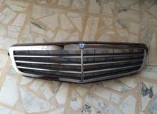 Mercedes C Class W204 Radiator Grille Frontgrill Grille Elegance OEM