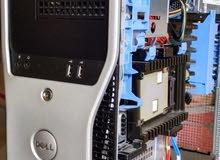 dell workstation cash 12 ram 16 xeon x5650 للمهتمين بالجرافيكس العالي