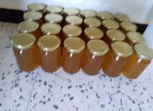 عسل طبيعي مرع زعتر +سدر للبيع 10 كيلو