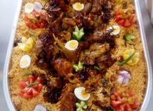 طباخ (بتزات وفطاير عيوش باانوعها واللحوم بانوعها)