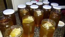 عسل طبيعي مكفول قطف الربيع