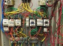 تركيب وصيانة لوحات التحكم الكهربائي